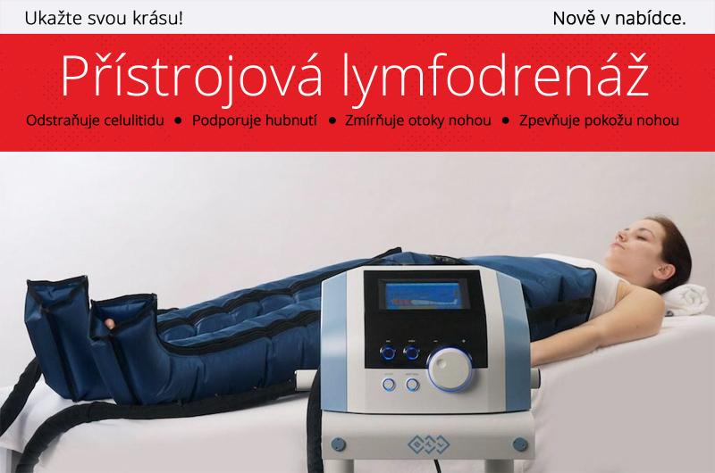 Nově v nabídce Lymfatická masáž na praze 6